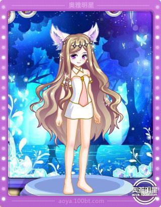 月光女神的面部配上森林公主的头发,不感违和,并且月光女神女王范十足