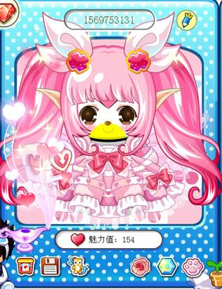 &nsp&nsp&nsp粉色系的可爱公主裙搭配同色系的希亚发甜美范