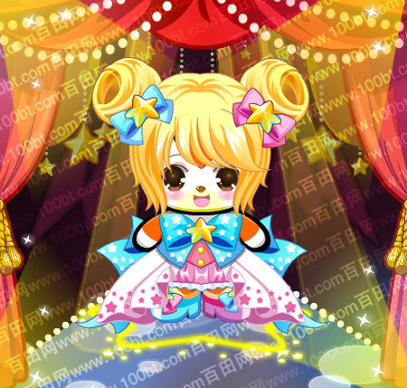 奥比岛双子蝴蝶套装服装图鉴