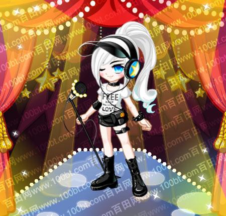 奥比岛炫酷女孩明星装服装图鉴