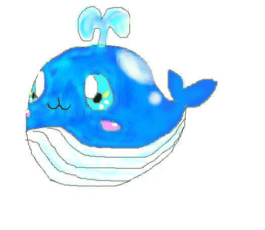鼠绘小鲸鱼
