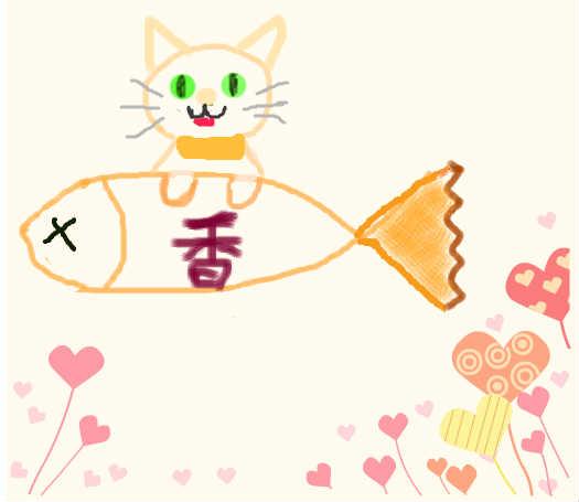 可爱小猫画画图片大全大图