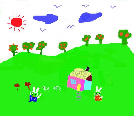 儿童画画小游戏