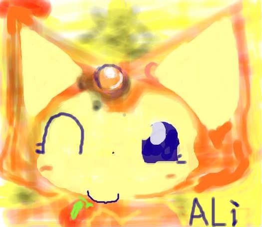 阿狸的画画步骤