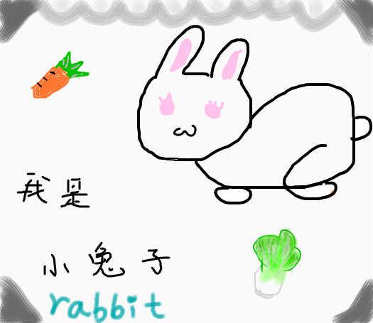 动物钟表图片大全图片兔子