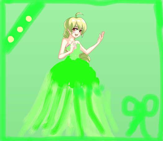 绿色蝴蝶公主