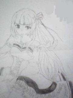美术学画画魔法少女二年级简单_学习画画