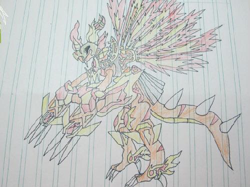 [荒雷]手绘烈焰龙皇