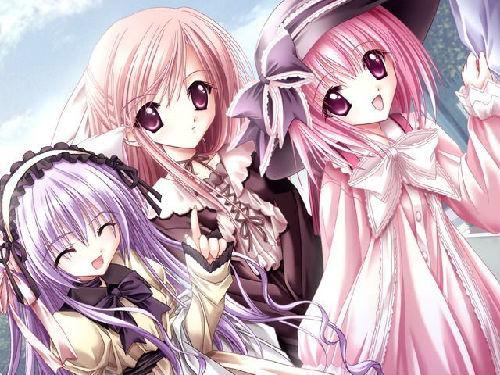 动漫中的紫发美女 你知道哪些?