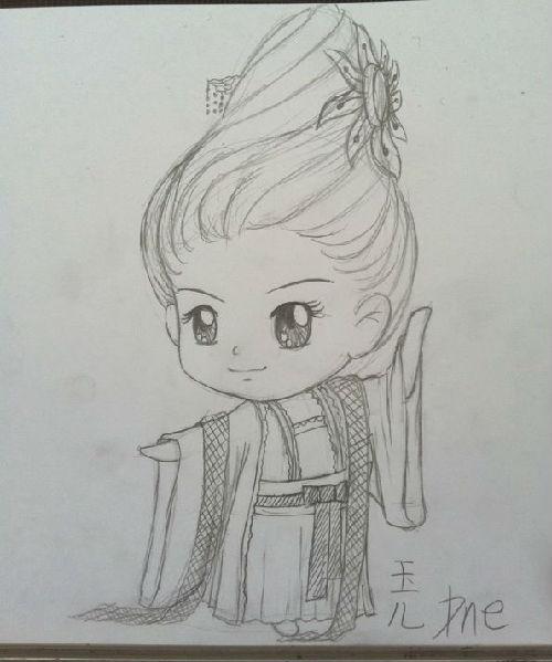轩辕剑q版手绘图