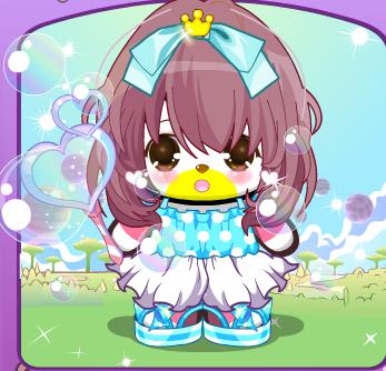 蓝色松糕底鞋真的狠漂亮呢,加上智慧公主的蝴蝶结,有木有小清新!