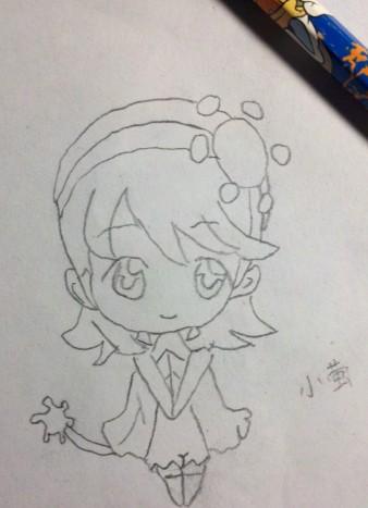 【舒雅】手绘,守护甜心-守护甜心图片