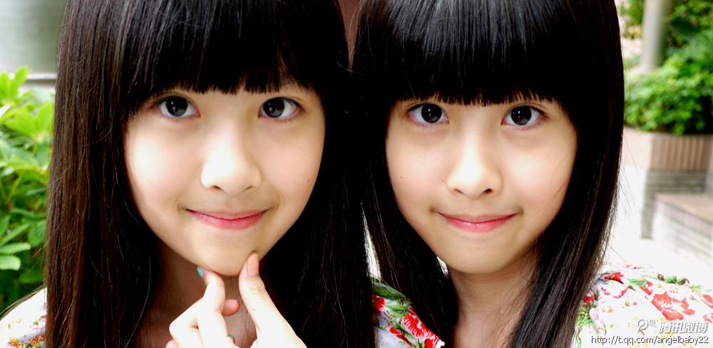 台湾双胞胎萝莉姐妹花长大了; 小萝莉sandymandy希函;; 台湾双胞胎
