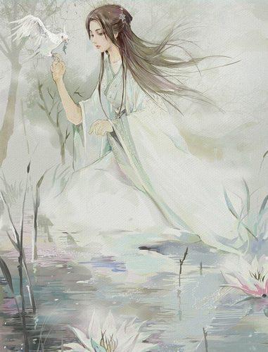 古风人物简笔画公主