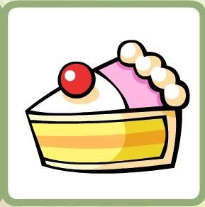 三角蛋糕    能量 50