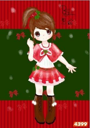这里有个种可爱的圣诞节头像哦!