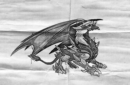 龙的画法步骤图片