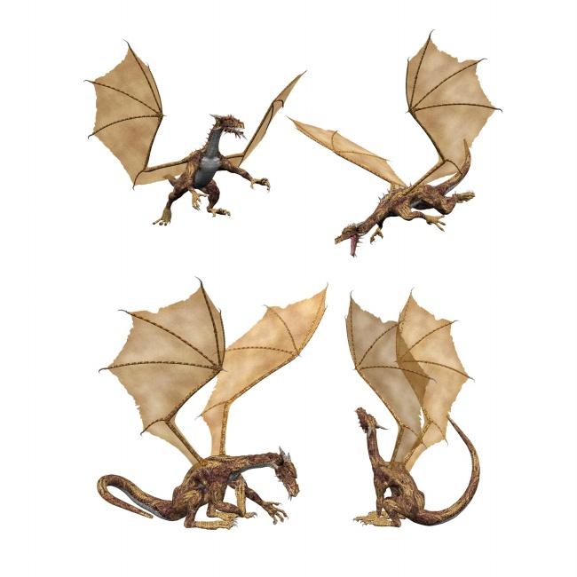 翼龙简笔画-帝皇龙超进化由你设计
