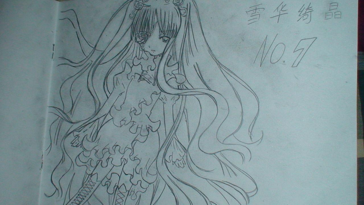裙子设计图铅笔画稿