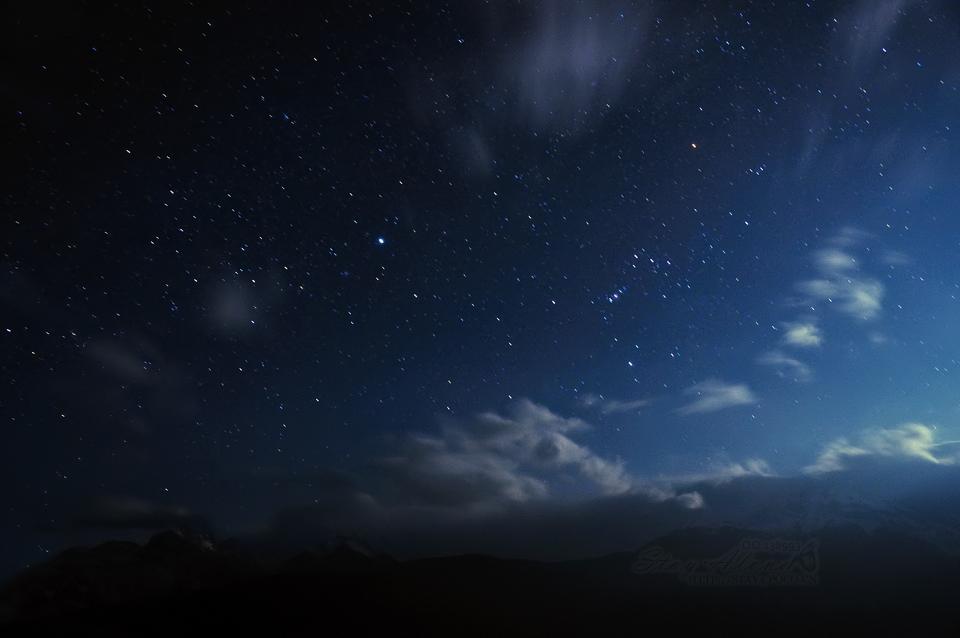 分享几张好看的星空图图~_百田星座圈