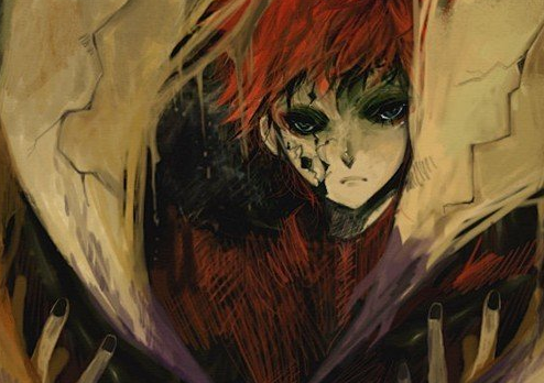 动漫圈 交流讨论 > 话题页   出自《火影忍者》曾经的我爱罗是个可爱