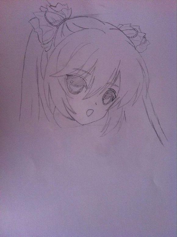 素描公主的画法步骤