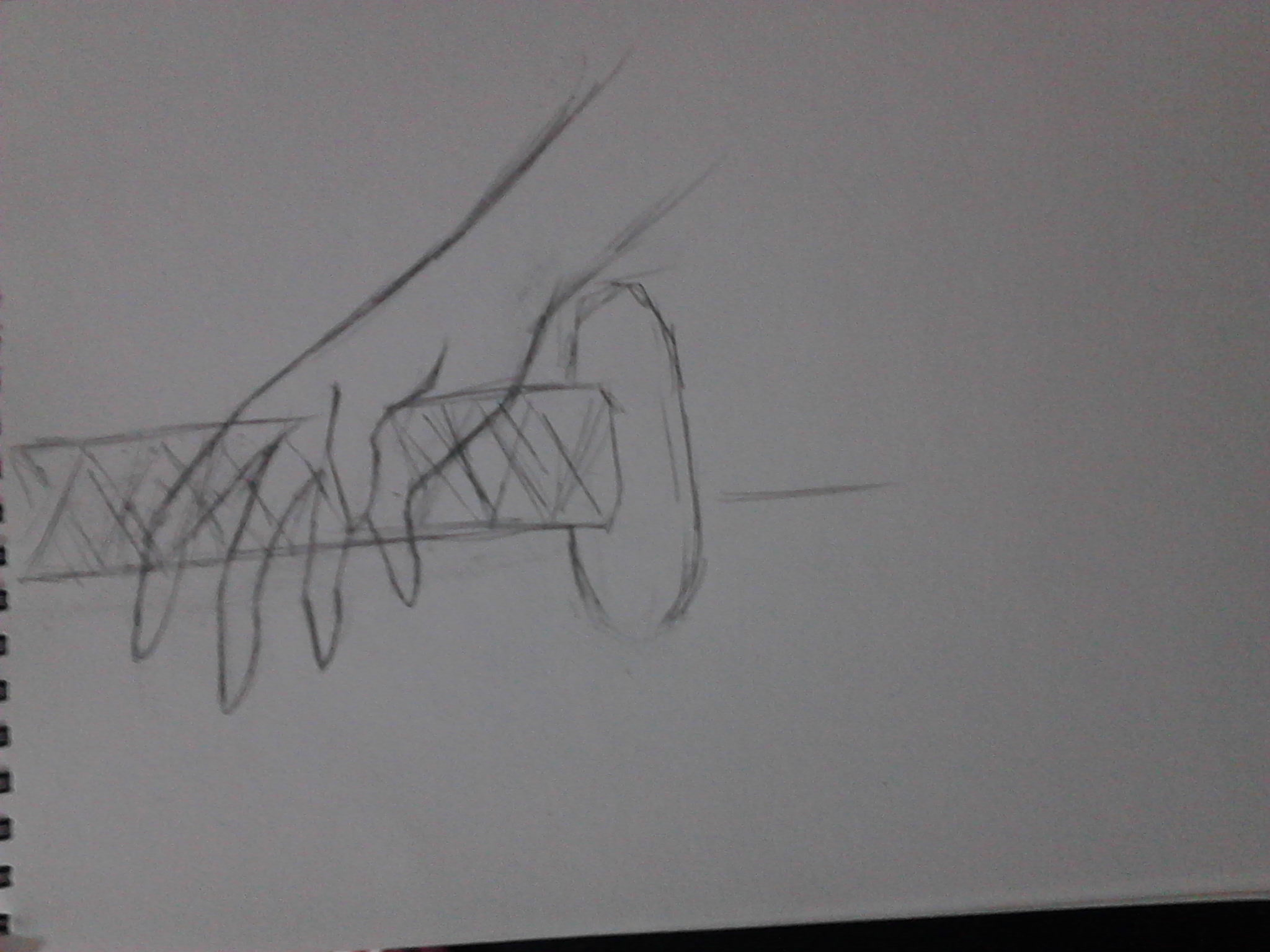 素描画手教学步骤图
