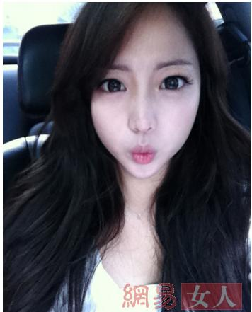 韩国某节目通过评选网络美女素颜后与真人的差异程度