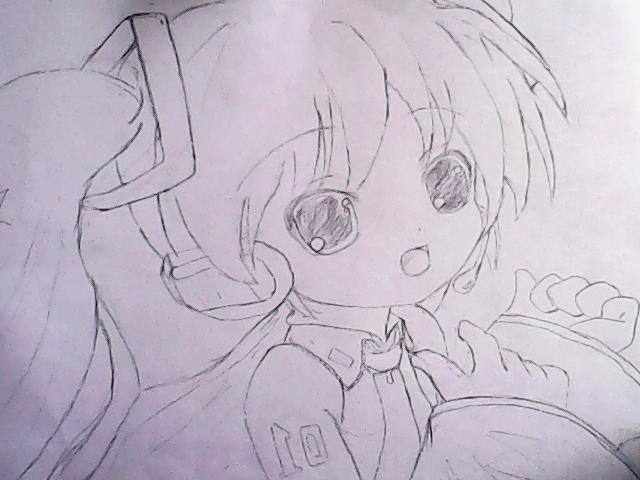 鹿晗动漫铅笔手绘图片