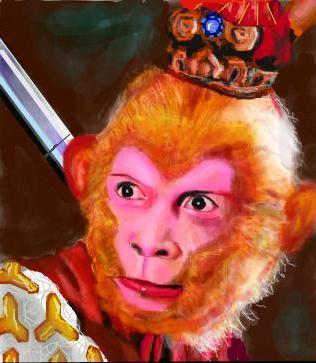 美猴王手绘