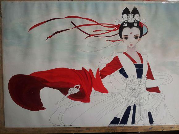 【转】水粉丙烯颜料上色步骤【手绘控福利.