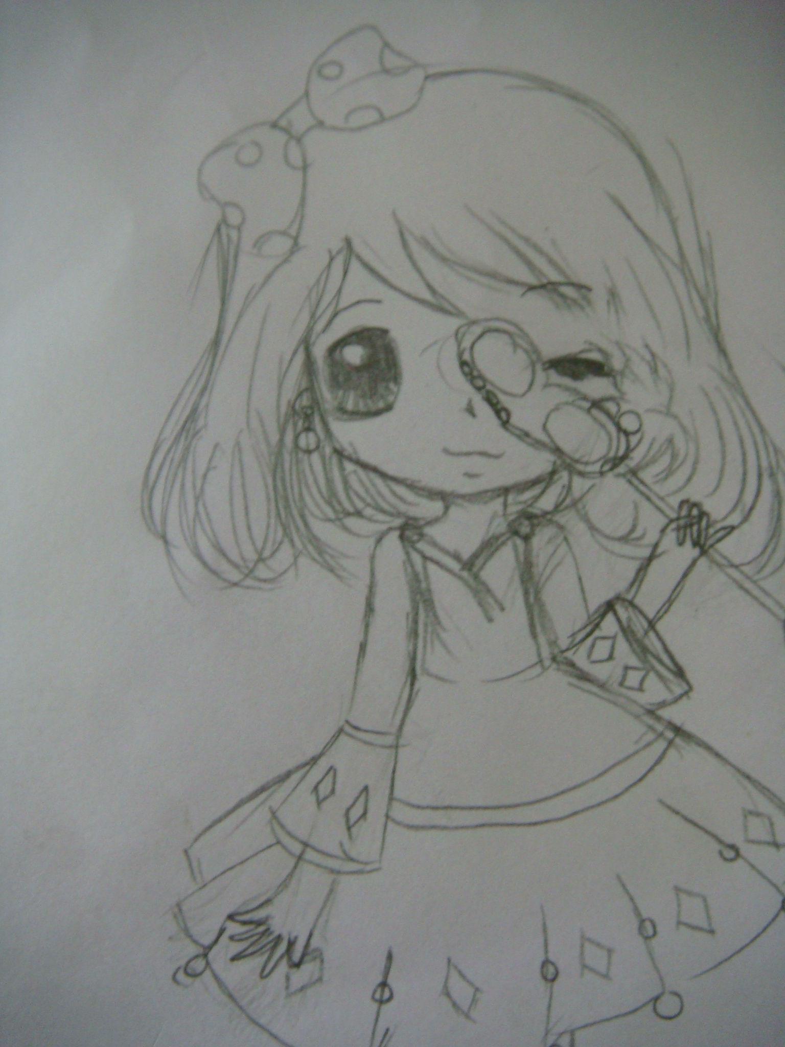 美丽公主裙子简笔画