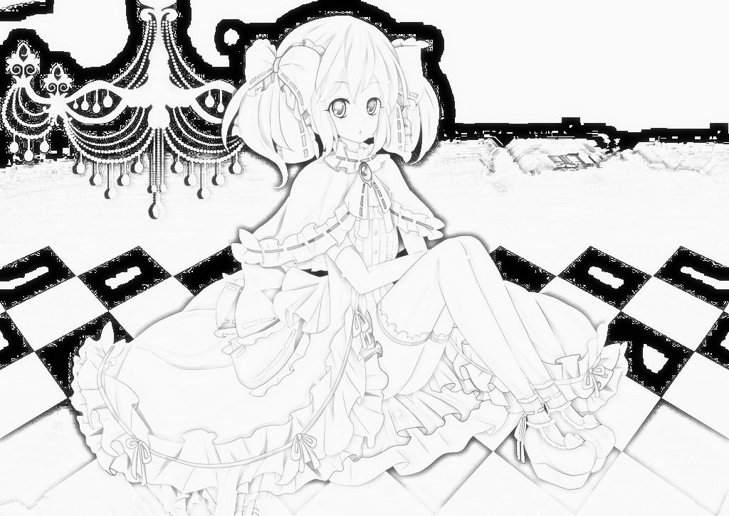 【兮儿】各种手绘的动漫图片~求精华!