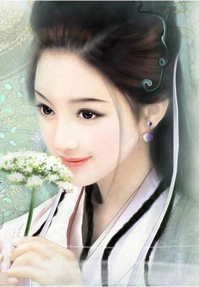 古装美女丹青_古装美女丹青图片 宫斗古代妃子丹青图片