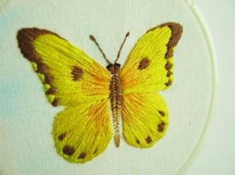 【米亚加工坊】刺绣蝴蝶