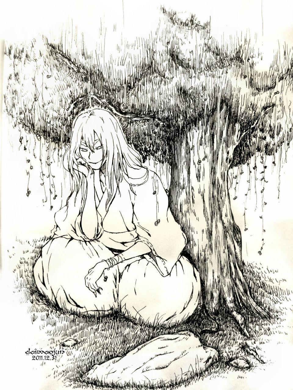 在梦里 我长成了一棵大树,有着长长的等待淡淡的欢心和浅浅的失落.