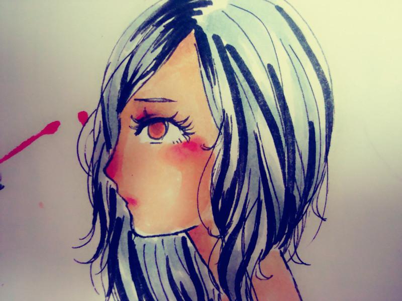 【果果】有人喜欢马克笔吗?o _ o(手绘)