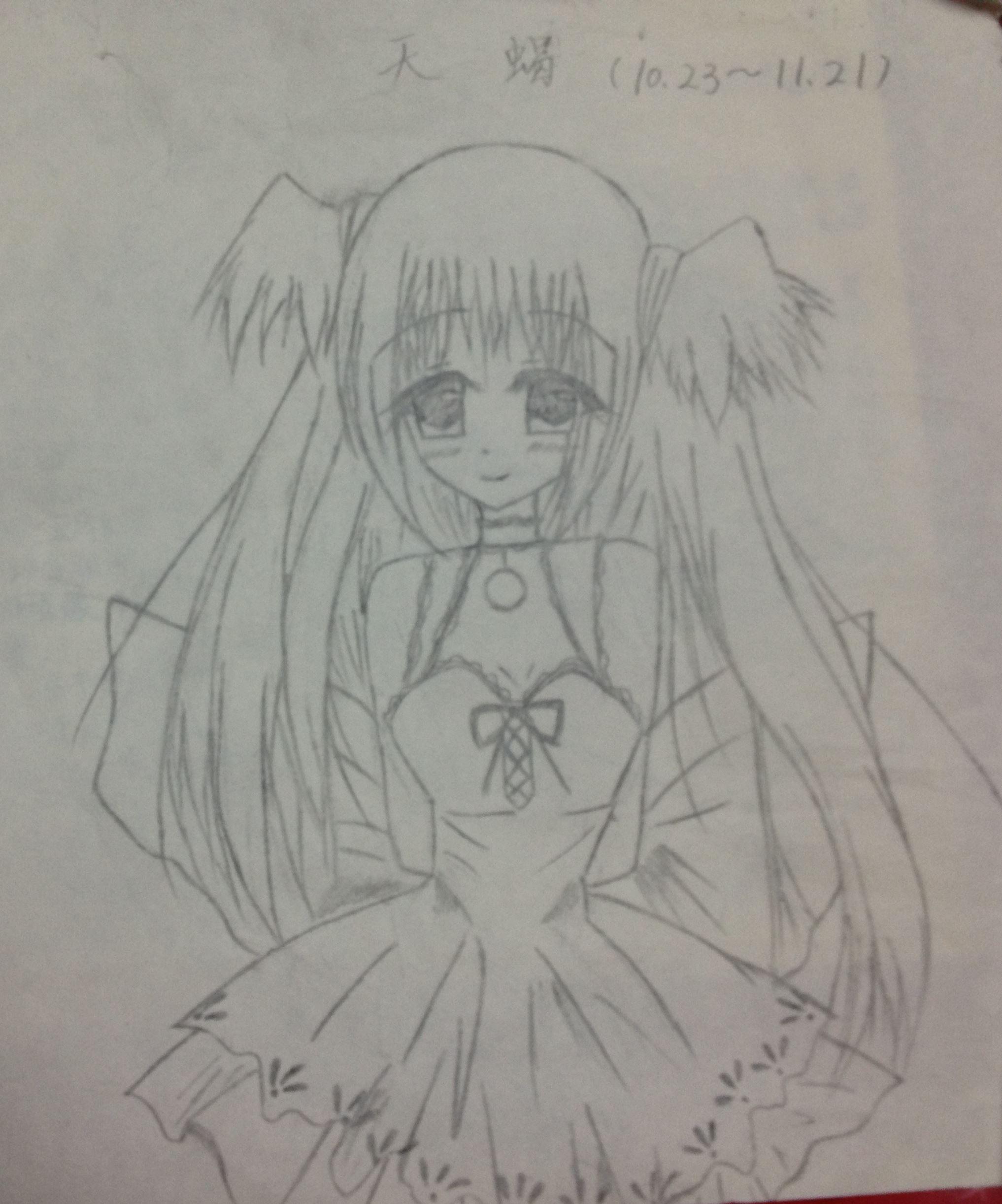 十二星座萝莉女仆【手绘】