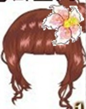 美人芭蕉丸子头?图片