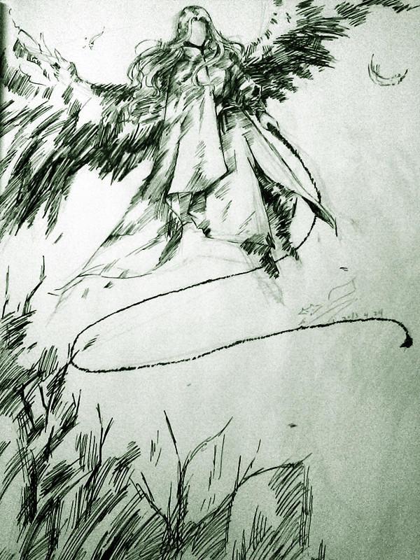 【狐】手绘场景教程