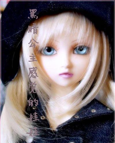 可爱娃娃头像长发