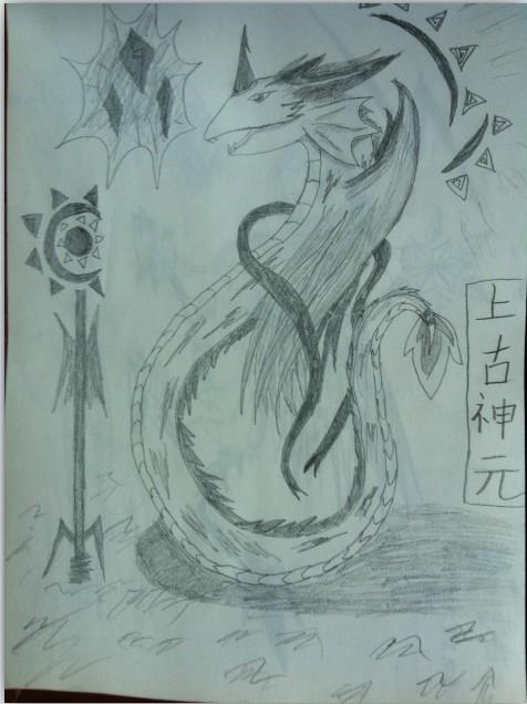 素描动物精灵图片
