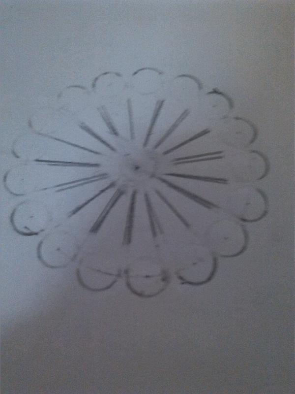 用圆规画出简单图案_用圆规画出美丽图案