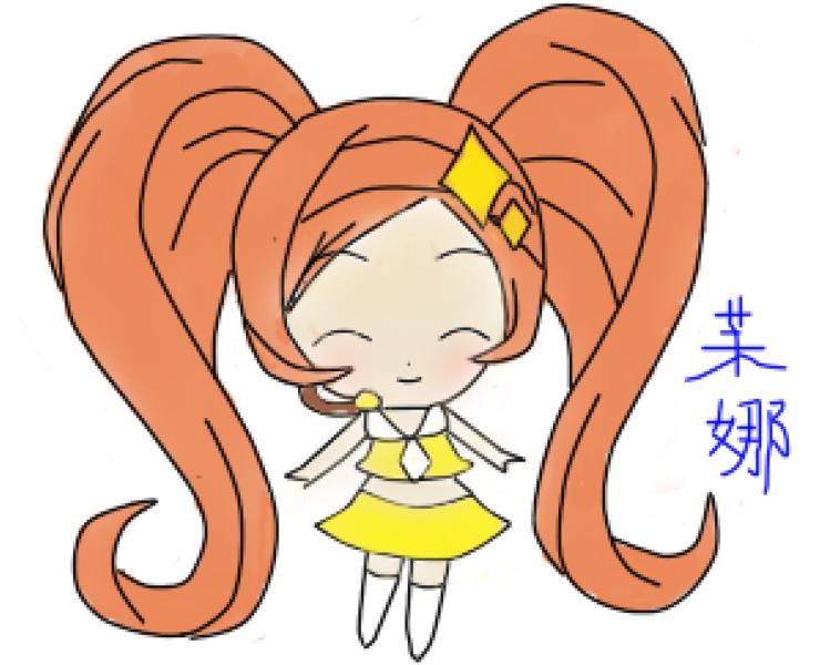 【茉娜】鼠绘,守护甜心【方块】