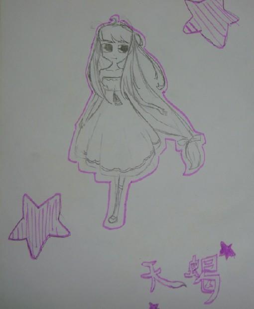 十二星座女孩纸._画咖圈_百田网