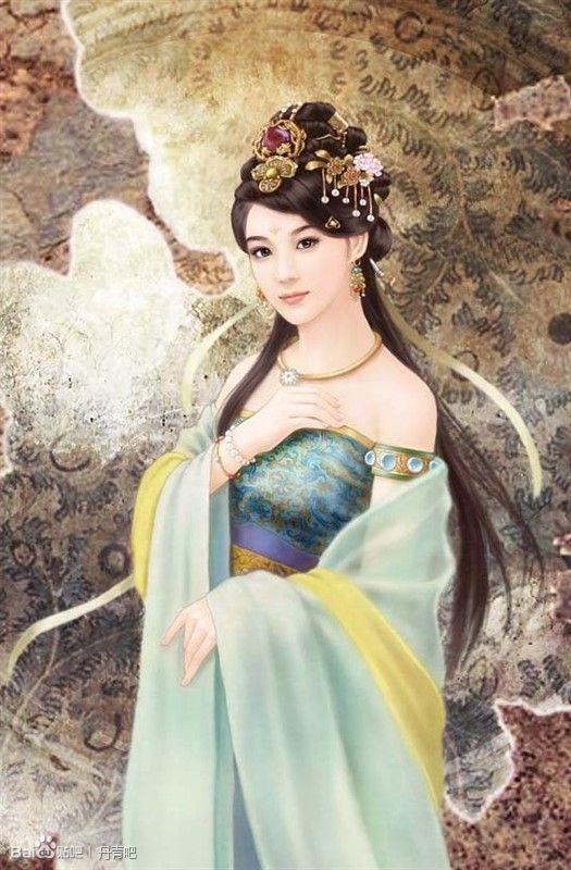 古装美女丹青_古代手绘男子丹青图 _网络排行榜