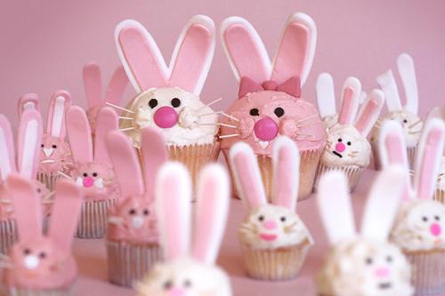 兔子纸杯蛋糕