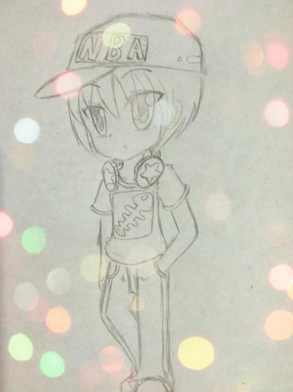 【手绘】萌系动漫人物
