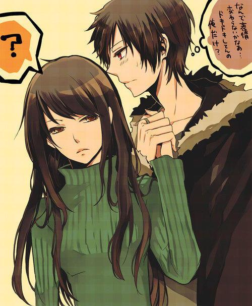 【伪心】那些唯美的动漫情侣图,你脸红了吗?