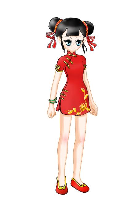 【纯鼠绘】旗袍